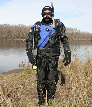 Ethan in Dry Suit